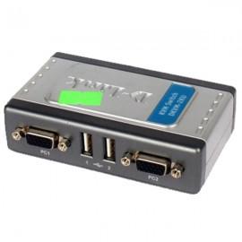 Switch KVM D-Link DKVM-2KU EKVM2KU...B1G 2x Ports KVM 9Pin 3x USB 1x PS/2 1x VGA