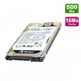 "Disque Dur 500Go SATA 2.5"" WD Black WD5000BPKX-66HPJT0 HP 696002-002 745135-001"