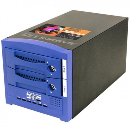 Serveur NAS Print LINKSYS Instant GigaDrive EFG80 2xHDD 1xRJ-45 Ethernet 1xDB-25