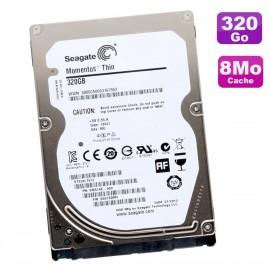 """Disque Dur 320Go SATA 2.5"""" Seagate Momentus Thin ST320LT012 9WS14C-285 0001SDM1"""