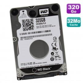 """Disque Dur 320Go SATA 2.5"""" WD Black WD3200LPLX-66ZNTT0 HP 805753-001 01.01A01"""