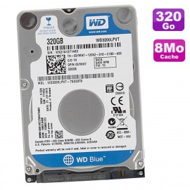 """Disque Dur 320Go SATA 2.5"""" WD Blue WD3200LPVT-75G33T0 Dell 05YMH7 5YMH7 T0 8Mo"""