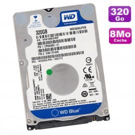 """Disque Dur 320Go SATA 2.5"""" WD Blue WD3200LPVX-16V0TT3 CP650856 10601751406 8Mo"""