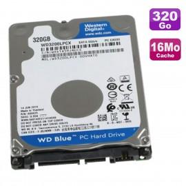 "Disque Dur 320Go SATA III 2.5"" WD Blue WD3200LPCX-22VHAT1 6Gbps 5400RPM 16Mo"