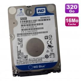 "Disque Dur 320Go SATA 2.5"" WD Blue WD3200LPCX-16VHAT1 CP725086-01 10601900552"