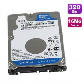 "Disque Dur 320Go SATA III 2.5"" WD Blue WD3200LPCX-00VHAT0 6Gbps 5400RPM 16Mo"