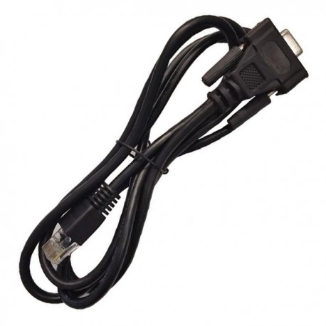 Câble HP 5188-3836 Serie DB-9 Femelle vers RJ-45 Ethernet Mâle 140cm Adaptateur