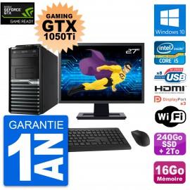 PC Acer M4630G Gaming GTX 1050 Ti i5-4570 RAM 16Go 240Go SSD + 2To Windows 10