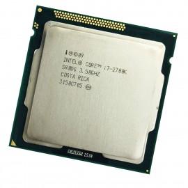 Processeur CPU Intel Core I7-2700K SR0DG 3.50Ghz 8Mo 5GT/s FCLGA1155 Quad Core