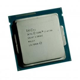 Processeur CPU Intel Core i7-4770k SR147 3.50Ghz 8Mo 5GT/s FCLGA1150 Quad Core