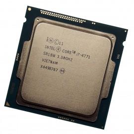 Processeur CPU Intel Core i7-4771 SR1BW 3.50Ghz 8Mo 5GT/s FCLGA1150 Quad Core