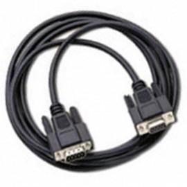 Câble Adaptateur 1x DB9 Mâle vers 1x Port Série DB9 Femelle RS232 1.8m Noir NEUF