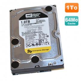 Disque Dur 1To SATA 3.5 WD RE4 Enterprise Storage WD1003FBYX-01Y7B1 7200RPM 64Mo