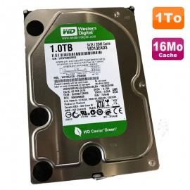 """Disque Dur 1To Western Digital WD10EACS-65D6B0 3.5"""" SATA Caviar Green 7200 16Mo"""