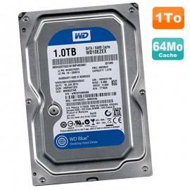 "Disque Dur 1To Western Digital Blue SATA III 3.5"" WD10EZEX-08M2NA0 7200RPM 64Mo"