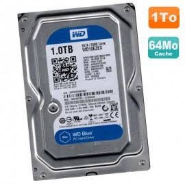 """Disque Dur 1To Western Digital Blue SATA III 3.5"""" WD10EZEX-21WN4A0 7200RPM 64Mo"""