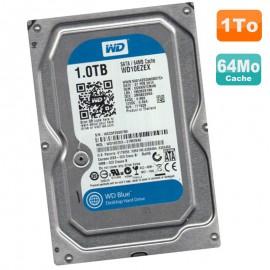 "Disque Dur 1To Western Digital Blue SATA III 3.5"" WD10EZEX-21M2NA0 7200RPM 64Mo"