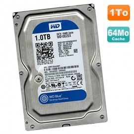 "Disque Dur 1To Western Digital Blue SATA III 3.5"" WD10EZEX-22RKKA0 7200RPM 64Mo"