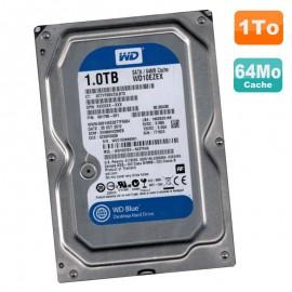 "Disque Dur 1To Western Digital Blue SATA III 3.5"" WD10EZEX-60ZF5A0 7200RPM 64Mo"