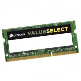 4Go RAM PC Portable SODIMM CORSAIR CM3X8GSDKIT1066 DDR3 PC3-8500S 1066MHz 1.5v