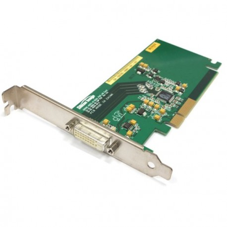 Carte Adaptateur DVI-D ADD2-N Silicon image PCI-Express x16 0J4570 Double Ecran