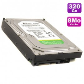 "Disque Dur 320Go SATA 3.5"" Western Digital GreenPower WD3200AVVS-63L2B0 7200 8Mo"