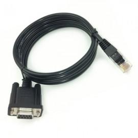 Câble Adaptateur IPE Console ZV00051 DB-9 Femelle vers RJ-45 Mâle 180cm Noir