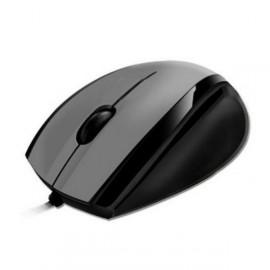 Souris Optique Filaire USB HEDEN SUSBOPTCA2 Noir Gris 3 Boutons 800-DPI PC Mouse