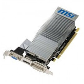 Carte Graphique MSI GeForce G210 N210-MD1GD3H/LP 1Go DDR3 PCI-e VGA HDMI DVI-I