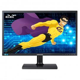 """Ecran 22"""" SAMSUNG SyncMaster S22C200B LS22C20KBS/EN Wide VESA 16:9 VGA DVI -D"""