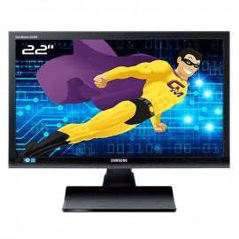 """Ecran 22"""" SAMSUNG SyncMaster SA200 S22A200B LS22A200BST/EN VGA DVI-I VESA 16:9"""