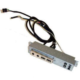 Front Panel HP Compaq 316133-002 239074-011 2x USB Audio LED D330 DC5000 DX5150