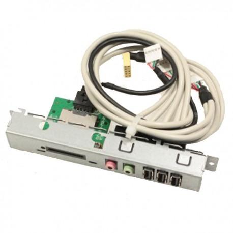 Front Panel HP Compaq 492757-001 A-A6466-B51 3x USB Lecteur Carte Audio I/O SG3