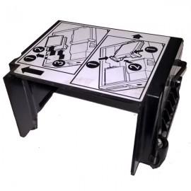 Adaptateur Dissipateur Dell 0MR313 MR313 Optiplex 740 SFF CPU Heatsink Shroud