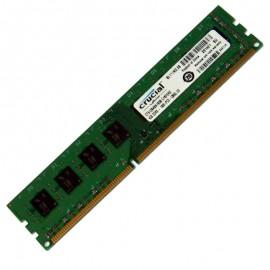 4Go RAM PC Crucial CT51264BA160B.C16FER2 DDR3 PC3-12800U 240-PIN 2Rx8 1600Mhz