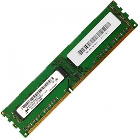 8Go RAM PC Bureau MICRON MT16JTF1G64AZ-1G6E1 DDR3 PC3-12800U 2Rx8 1600Mhz CL11