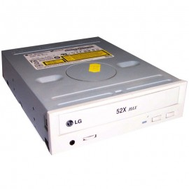 "Lecteur CD-ROM IDE 5.25"" LG GCR-8521B 52x Beige Internal CD-ROM Drive"