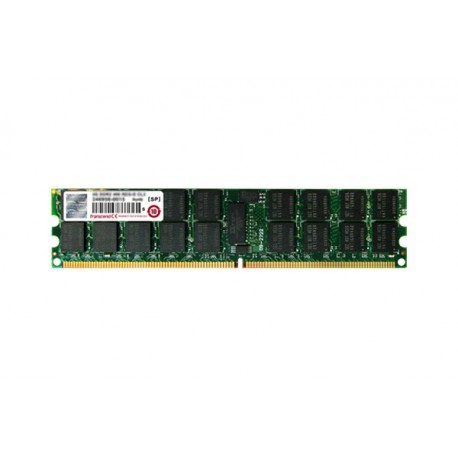 Ram Barrette Mémoire TRANSCEND 2GB DDR2 PC2-5300R ECC Registered TS256MQR72V6K