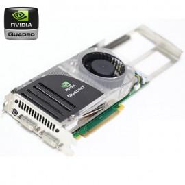 Carte Graphique Pro NVIDIA Quadro FX4600 PCIe x16 768Mo GDDR3 Dual DVI P356