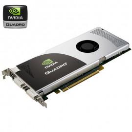 Carte Graphique Pro NVIDIA Quadro FX3700 PCIe x16 512Mo GDDR3 Dual DVI P393