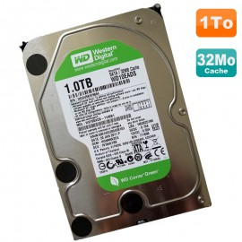 "Disque Dur 1 To Western Digital WD10EADS-114BB1 3.5"" SATA Caviar Green 7200 32Mo"