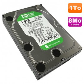 "Disque Dur 1 To Western Digital WD10EAVS-00M4B0 3.5"" SATA Caviar Green 7200 8Mo"