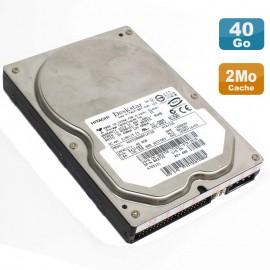"Disque Dur 40Go IDE ATA 3.5"" Hitachi Deskstar HDS728040PLAT20 7200RPM 2Mo"