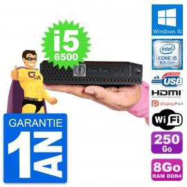 Mini PC Dell 7040 Micro Intel i5-6500T RAM 8Go Disque 250Go HDMI Windows 10 Wifi