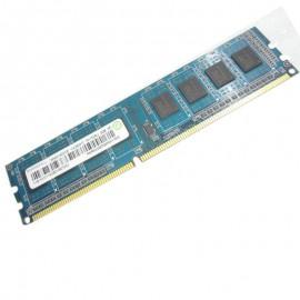 4Go RAM Ramaxel RMR5030EF68F9W DDR3 PC3-12800U 1Rx8 1600Mhz 240Pin PC Bureau