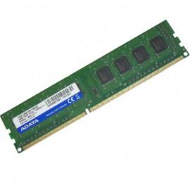 4Go RAM ADATA AM2L16BC4R1-B0AS DDR3 PC3-12800U 1Rx8 1600Mhz 240Pin PC Bureau