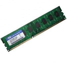 4Go RAM Team Elite TED34096M1333C9 DDR3 PC3-10600U 2Rx8 1333Mhz CL9 PC Bureau