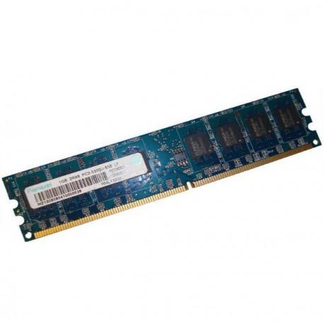 Ram Barrette Mémoire RAMAXEL 1Go DDR2 PC2-5300U RML1320EJ38D7W-667 Unbuffered