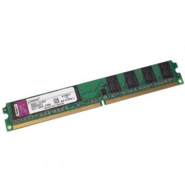 Ram Barrette Mémoire Kingston 1Go DDR2 PC-4200 533Mhz KFJ2888/1G Low Profile