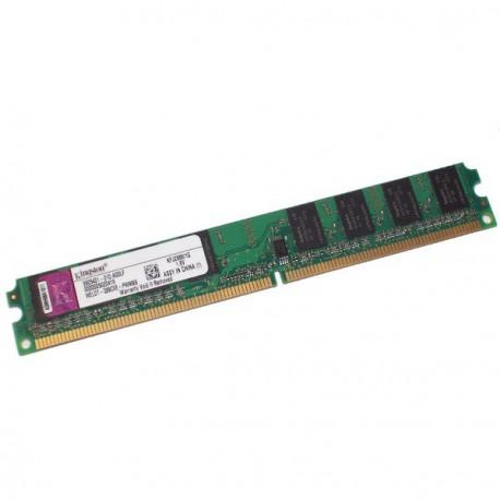 Ram Barrette Mémoire Kingston 1Go DDR2 PC-4200 533Mhz KFJ2888/1G Low Profile